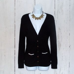 NWOT White House Black Market Snap-Front Cardigan